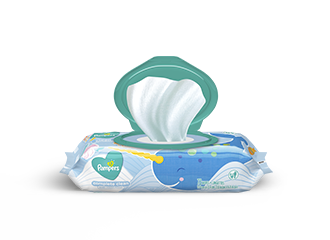 WIPES <br /> Pampers®<br /> Complete Clean™ Baby Fresh Scent