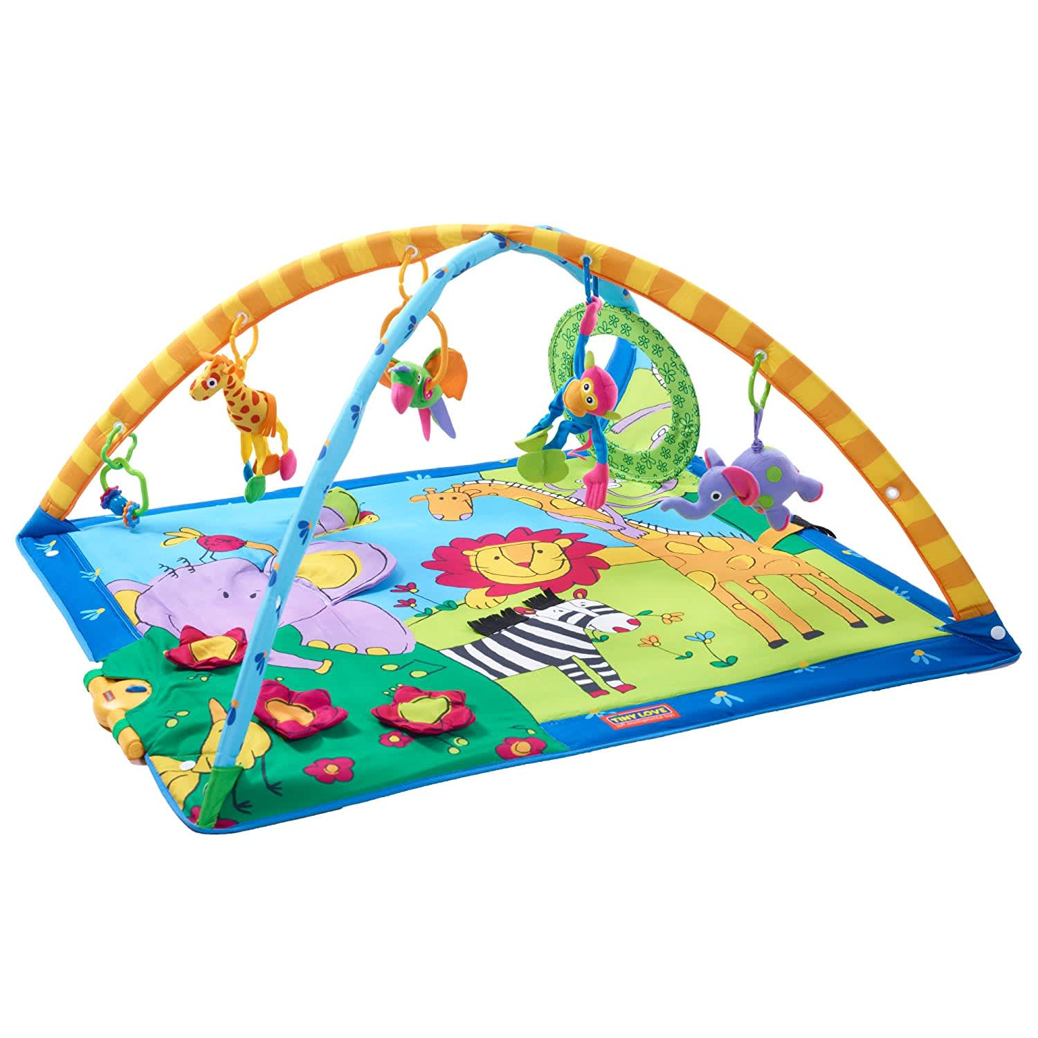 Gymini Super Deluxe Lights and Music Play Mat