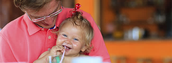 Eating out dining at a restaurant with your baby