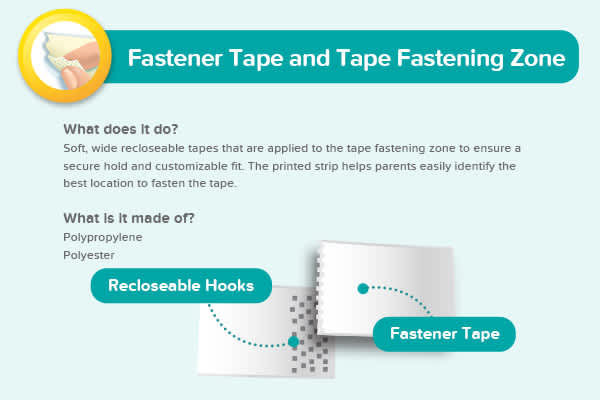 Fastener Tape and Tape Fastening Zone