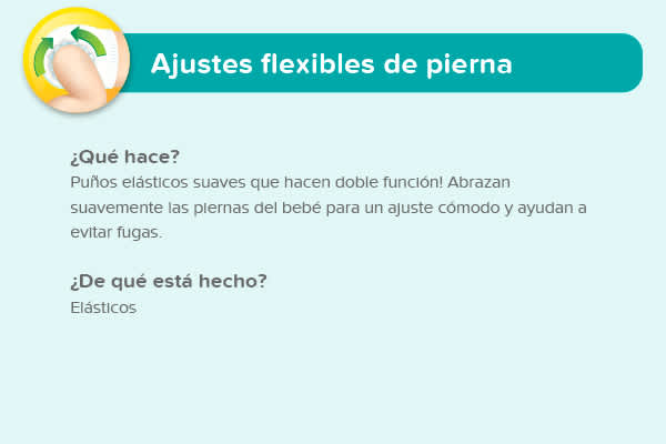 Ajustes flexibles de pierna
