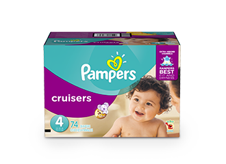 DIAPERS Pampers® Cruisers™