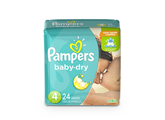 DIAPERS Pampers® Baby-Dry™