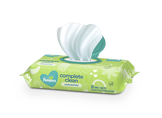 WIPES Pampers® Complete Clean™ Unscented