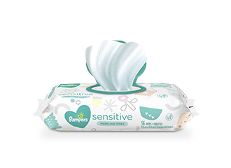 WIPES Pampers® Sensitive™