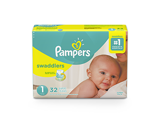 DIAPERS Pampers® Swaddlers™