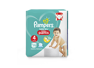 Pampers® Baby-Dry™ Nappy Pants