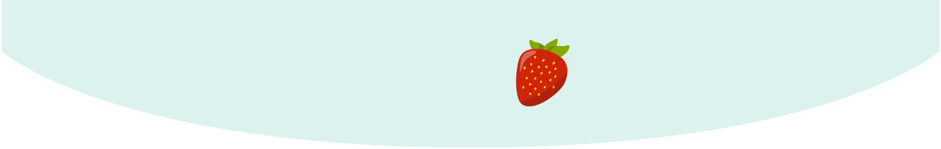 Your baby is the size of a strawberry