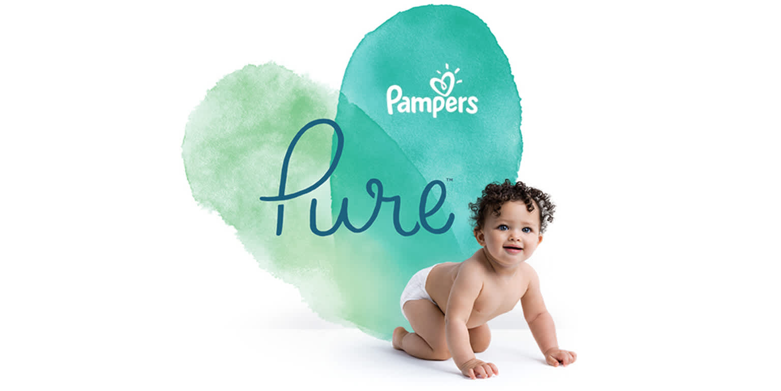 Коллекция Pampers Pure