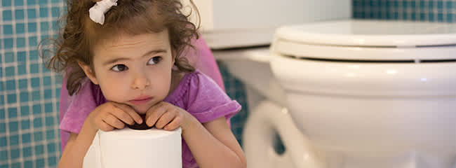 accident while potty training