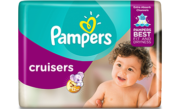 Pañales Pampers Cruisers