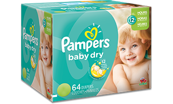 Pañales Pampers Baby Dry