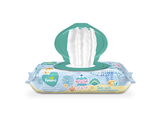 WIPES Pampers® Complete Clean™ Baby Fresh Scent