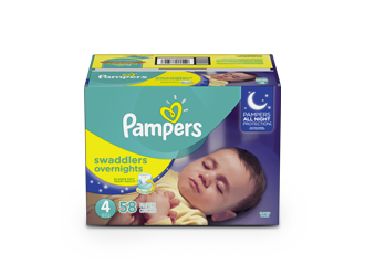 DIAPERS Pampers® Swaddlers Overnights™