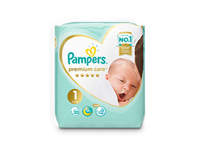 Подгузники Pampers® Premium Care™