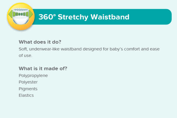 360° Stretchy Waistband