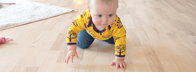 Fun games to help your baby crawl