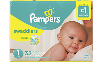 Pañales Pampers Swaddlers