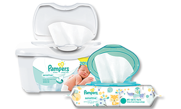 Toallitas Pampers Sensitive