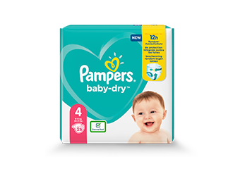 COUCHES Pampers® Baby-Dry™