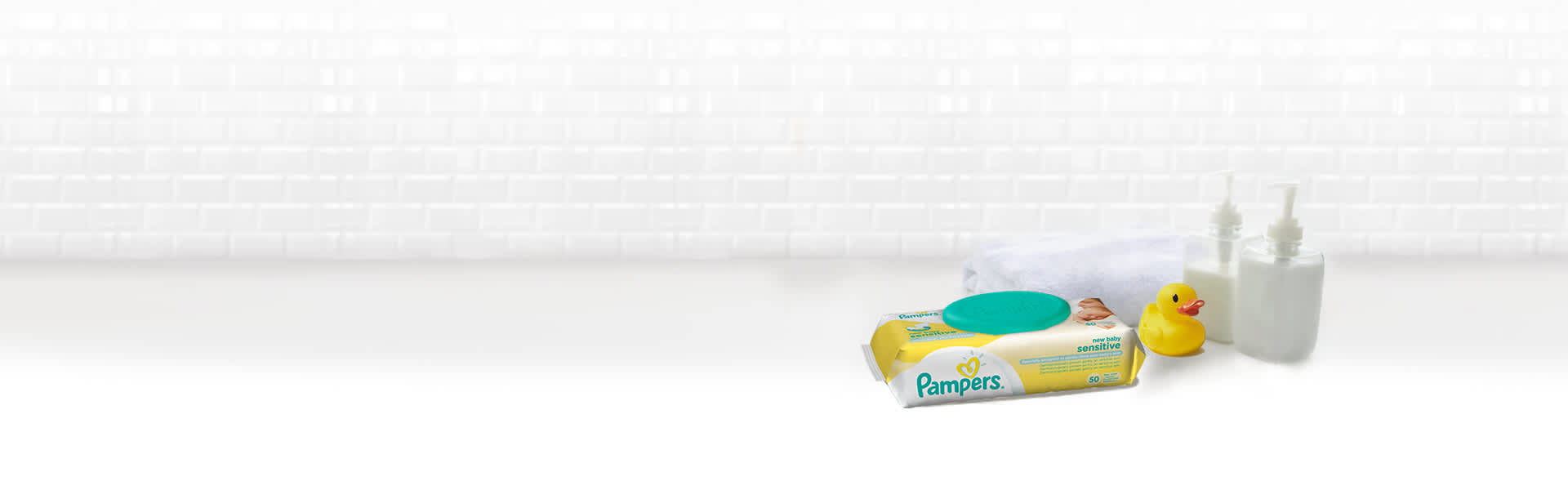 Pampers New Baby Sensitive Wipes