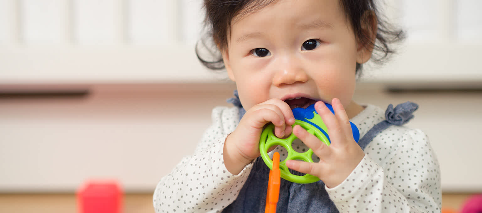 Symptoms of teething