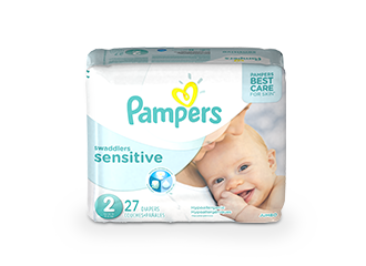DIAPERS Pampers® Swaddlers Sensitive™