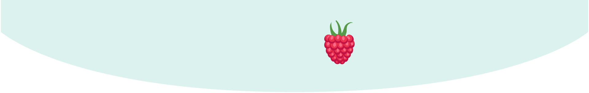 Your baby is the size of a raspberry
