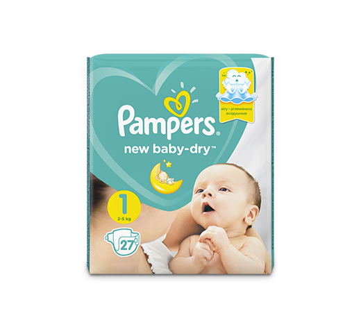 Подгузники Pampers® New Baby-Dry™