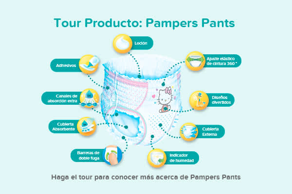 Tour Producto: Pampers Pants