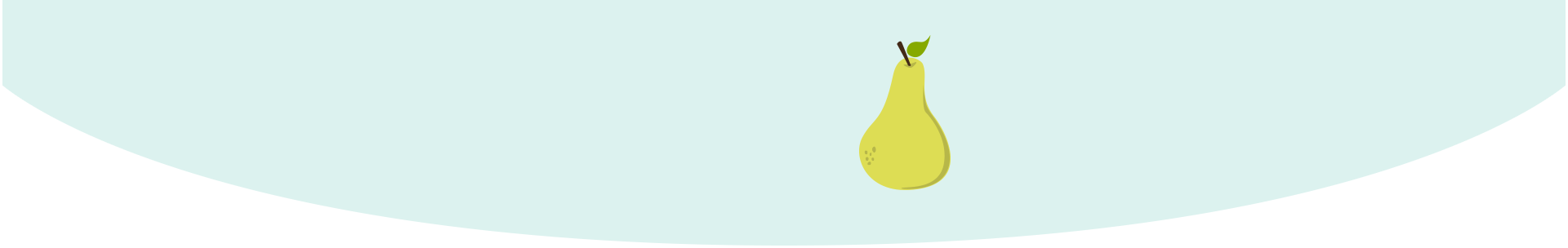 baby size of pear week 17