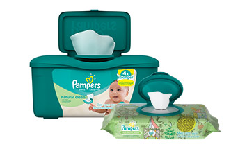 Toallitas Pampers Natural Clean