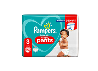 Pampers Baby-Dry™<br/>Nappy Pants