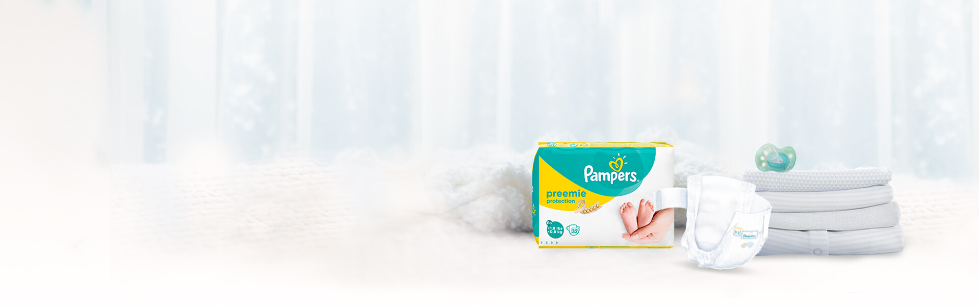 Pampers Preemie Protection Nappies