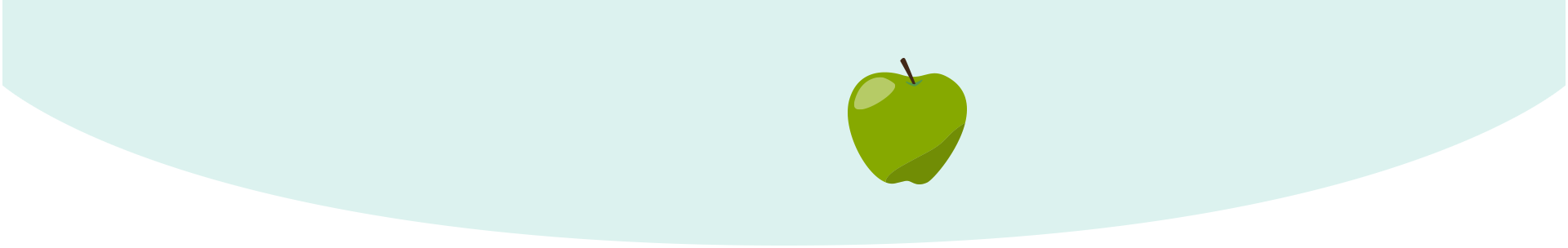 Your baby is the size of an apple