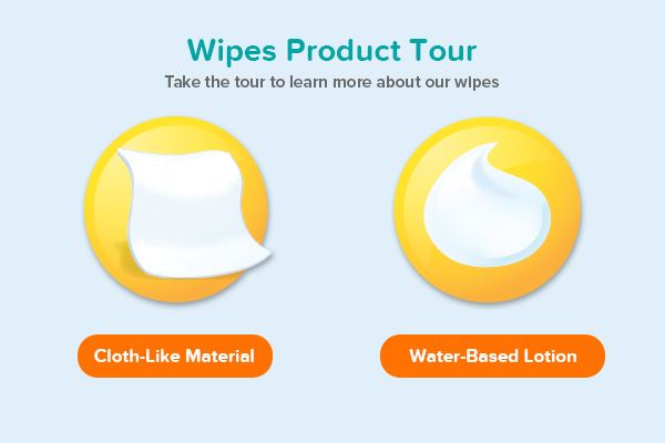 Wipes Product Tour
