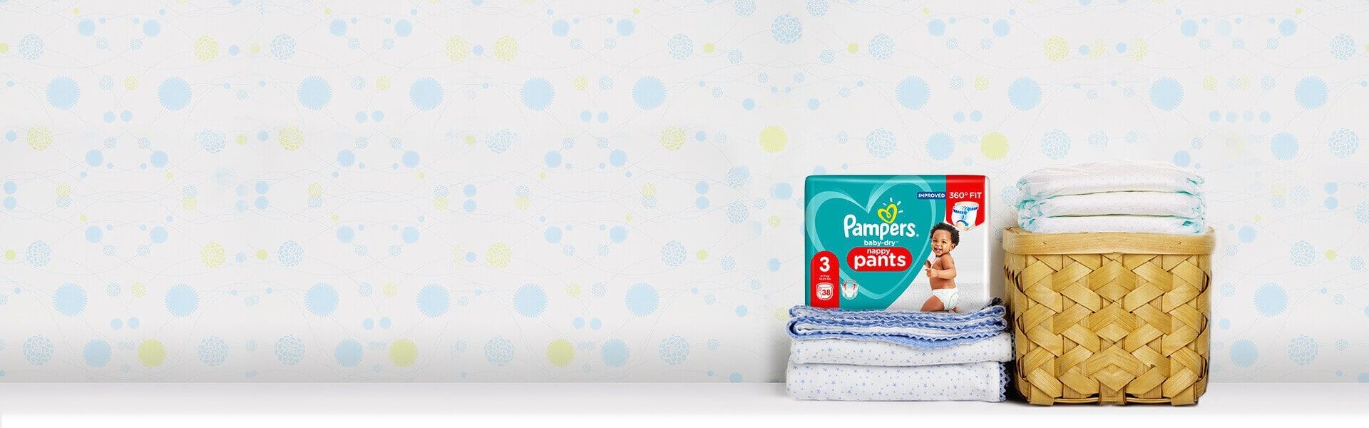 Pampers Baby-DryTM Nappy Pants