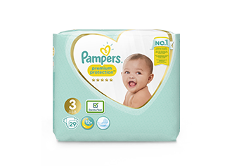 Pampers® Premium Protection™