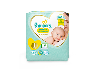 Pampers® Premium Protection New Baby™