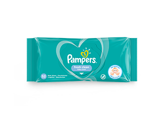 LINGETTES Pampers® Fresh Clean™