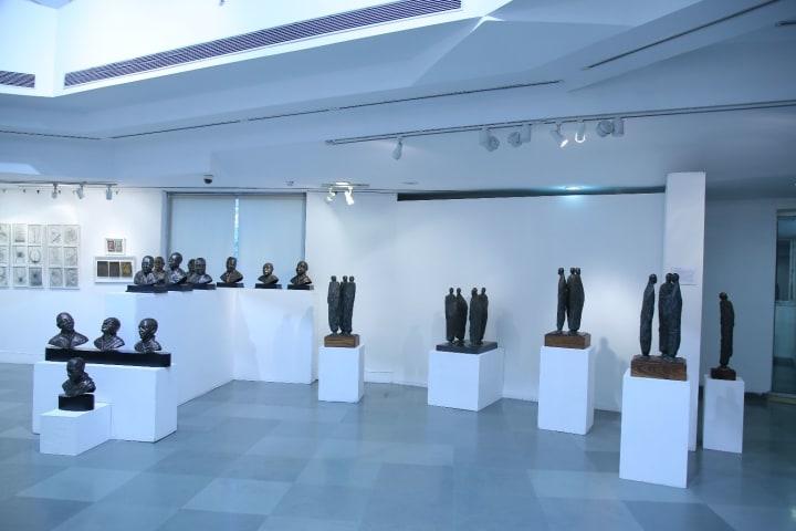 Exhibition by Shakti Maira at IIC, Delhi