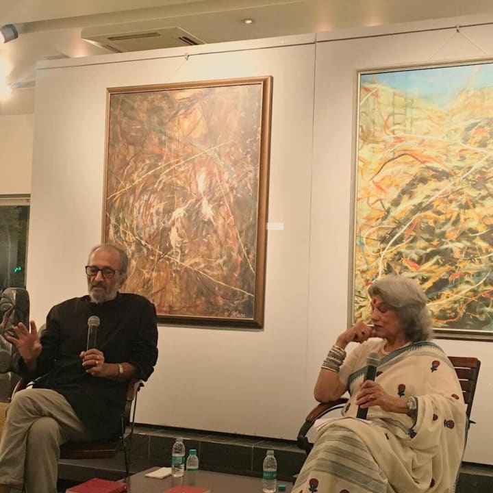 Shakti Maira in conversation with Dolly Thakore