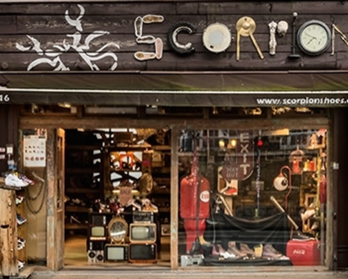 Scorpion Shoes - Chalk Farm Road