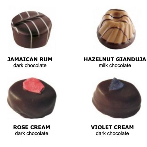 Mixed Chocolates & Truffles Gift Box 6