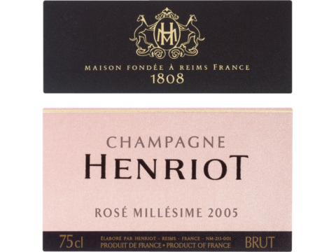 Henriot Rose Millesime 2005 1
