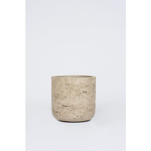 Straight Cement Pot Stone: Small Image
