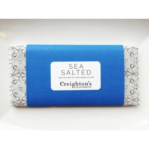 Creighton's sea salted chocolate bar Image