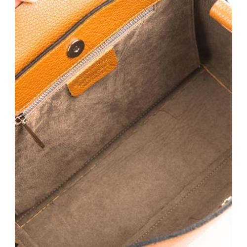 Adele , Laser Cut Leather Handbag , Mashmellow Pink Image