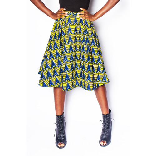 Baniakang - Pleated Skirt - Women's Image