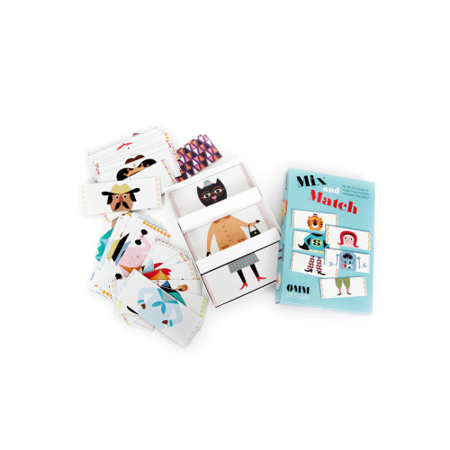 Mix & Match card game Image